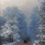 Goblen - Peisaj de iarna