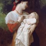 Goblen - Admiratie materna