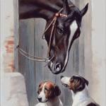 Goblen - Calul si cateii