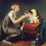 Goblen - Pranzul pisicii