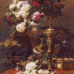 Goblen - Flori si fructe