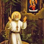 Goblen - Sfantul Serafim de la Sarov