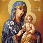 Goblen - Maica Domnului cu Pruncul (4)