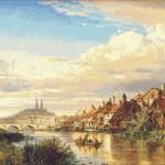 Goblen - Pe malul raului