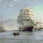 Goblen - Portul chinez
