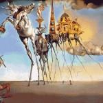 Goblen - Ispitirea Sfantului Antonie cel Mare