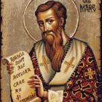Goblen - Sfantul Vasile cel Mare