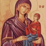Goblen - Sfanta Ana cu Fecioara Maria