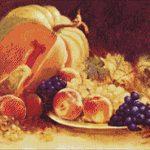 Goblen - Natură statică cu fructe