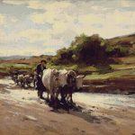 Goblen - Car cu boi