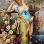 Goblen - Mesagerul iubirii