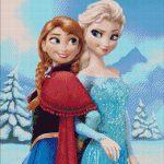 Goblen - Anna şi Elsa