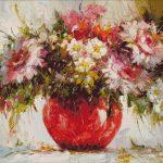 Goblen - Flori în vază