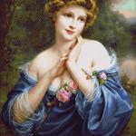 Goblen - Un trandafir de vara