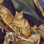 Goblen - Raminou stând pe pânză