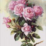 Goblen - Trandafiri şi bondari