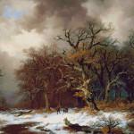 Goblen - La adunat de lemne
