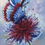Goblen - Fluture pe floare