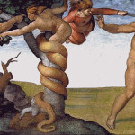 Goblen - Izgonirea lui Adam si Eva din Rai
