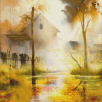 Goblen - Atmosferă de toamnă