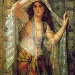 Goblen - Dansatoarea din buric