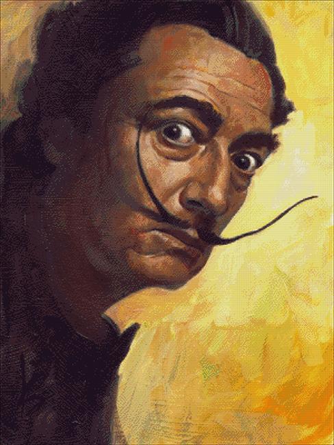 Dali Self Portrait