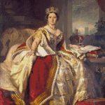 Goblen - Regina Victoria in domnia ei