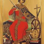 Goblen - Sfanta Ecaterina