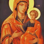 Goblen - Maica Domnului de la Prodrom (2)