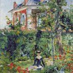 Goblen - Margarete în grădină