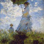 Goblen - Doamna cu umbrela de soare