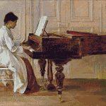 Goblen - Misia la pian