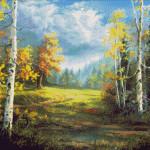 Goblen - Peisaj de toamnă (2)