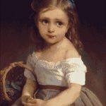 Goblen - Portret de fetita