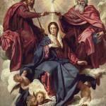 Goblen - Incoronarea Fecioarei Maria