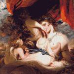 Goblen - Cupidon dezlegând mijlocul lui Venus