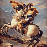 Goblen - Napoleon trecând munţii Alpi