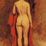 Goblen - Nud stând
