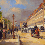 Goblen - Strada insorita in Paris