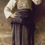 Goblen - Fata cu ulcior