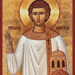 Goblen - Sfântul Arhidiacon Ştefan