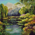 Goblen - Delta inflorită