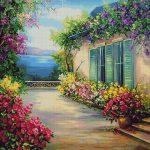 Goblen - Dimineata de Florii
