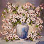 Goblen - Primăvară în vază