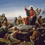 Goblen - Predica de pe Munte a lui Iisus