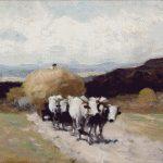 Goblen - Car cu boi 2