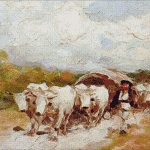 Goblen - Car cu boi 3