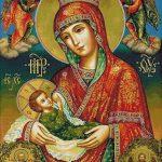 Goblen - Maica Domnului alăptând