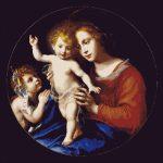 Goblen - Fecioara şi copilul