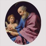 Goblen - Sfântul Matei